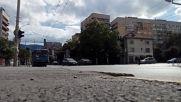 Тролей Ikarus 280.92t Ganz №2909 по линия 9 в София