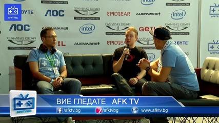 Kalo Op vs Test Your Limits Interview - League of Legends - On! Fest 2013