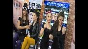 Цветна, парти атмосфера с момичетата от SALUTE