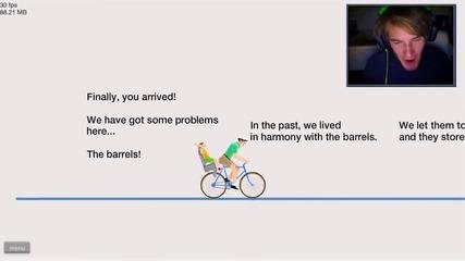 Pewdiepie - Happy Wheels Montage Teil 1
