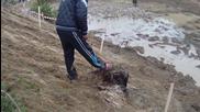 off road Самоков 2015 почистване от калта