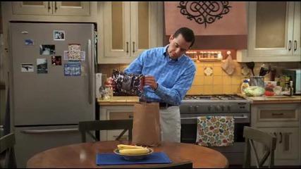 Обяд За Бъдещи Диабетици - Двама Мъже И Половина Сезон 7 Смях