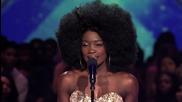 Страхотно изпълнение на Lillie Mccloud в The X Factor Usa 2013