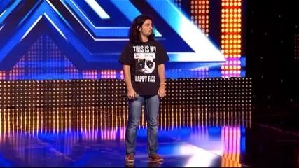 Славин Славчев - X Factor (23.09.2014)