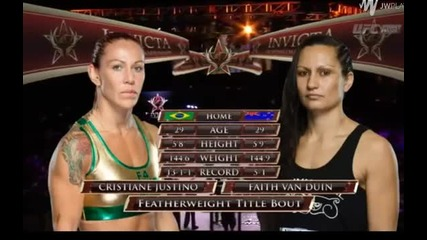 Cyborg vs. Van Duin - 1st Round Knock Out!!! ( 11.07.2015 )