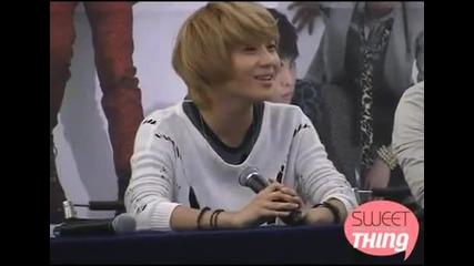 [fc][101024] Shinee Taemin - Love still goes on @ Hello Fansign
