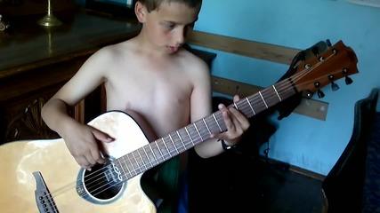 малкия китарист