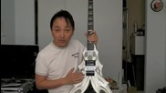 B.c. Rich Draco Ghost Flame и Ibanez S7320