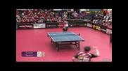 Класически удар при тенис на маса