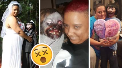 И това се случи: Жена се омъжи за зомби! Разказаха за първата си брачна нощ
