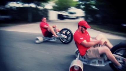 Monster Big Wheel extreme trike racing