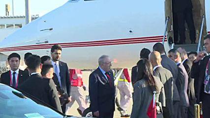 Japan: Turkish FM Cavusoglu arrives in Nagoya for G20 ministerial meeting
