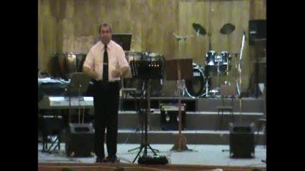 """Б Б Ц """" Градове за Исус""""-12.06.2011-п-р Ст. Димитров (2част)"""