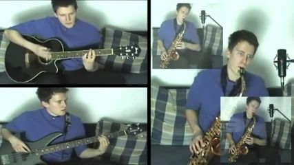 Вая Кон Диос — Nah Neh Nah; саксофон и китара