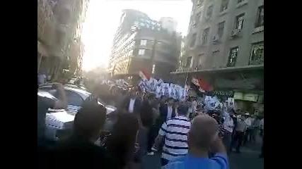 Шествие в центъра на град Дамсак на 05.06.2011г.