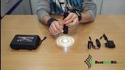 Силен малък акумулаторен фенер с акумулаторна батерия 18650 зарядно за къмпинг риболов кола палатка