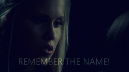 Tvd Rebekah - remember the name