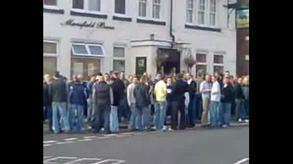 English And Scottish Hooligans