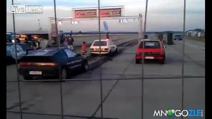 Идиоти на драг пистата