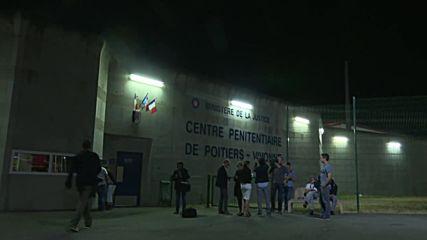France: Vivonne inmates evacuated after prison set ablaze during riot