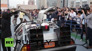 Japan: Bio-ethanol powered Delorean revealed for 'Back to the Future' day