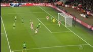 Арсенал - Саутхемптън 0:0 /първо полувреме/