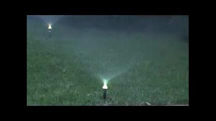 Светещ воден разпръсквач