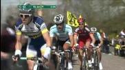 Падането на Канчелара на Обиколката на Фландрия 2012