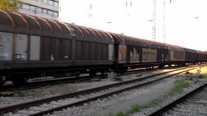 43 533 с товарен влак.