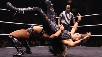 Toni Storm German suplexes the hell out of Rhea Ripley: WWE Worlds Collide, Jan. 25, 2020