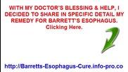 Barretts Syndrome, Barrett's Esophagus Treatment Guidelines, Barrett's Esophagus Grading