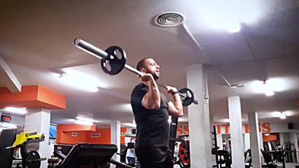 90 дневна трансформация | Изграждане на мускул, горене на мазнини | Ден 39 - рамена, бицепси