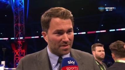 """Има ли шанс за мач Джошуа-Пулев на """"Уембли"""" догодина?"""