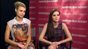 Interview with Zoey Deutch and Lucy Fry/ Интервю със Зоуи Дойч и Луси Фрай