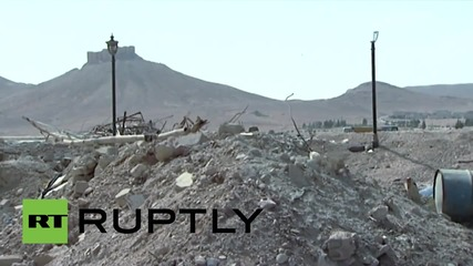 Syria: Islamic State claim to have seized part of World Heritage-listed Palmyra