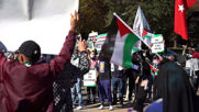South Africa: Scores of pro-Palestine protesters rally outside Israeli embassy in Pretoria