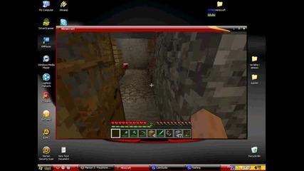 podzemna hralupa na minecraft