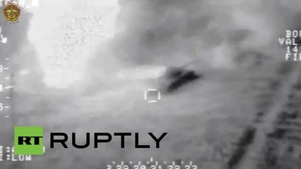 Въздушни удари в Ирак по цели на ИД