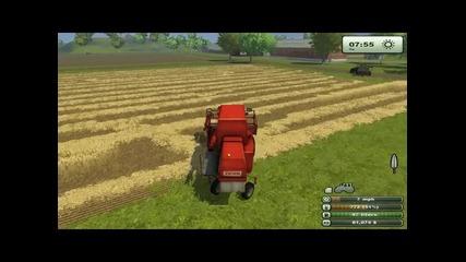 Farming Simulator 2013 ep:1 (жътва)