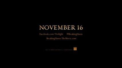 Breaking Dawn Part 2 Teaser Trailer Official 2012