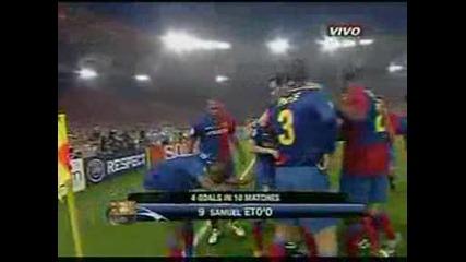 Шампионска Лига Финал! Барселона 1:0 Манчестър Юнайтед - Етоо Гол!