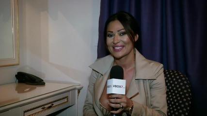 Цеца поздравява феновете на VBOX7