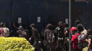 Mexico: Protesters through projectiles at US embassy in Mexico City, damage fence