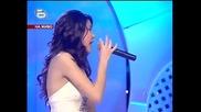 Ексклузивно!!шанел пее на турски и върти кючека:) ) - music idol 2 - 31.03.08 Hq