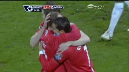 1 - 0 Rooney