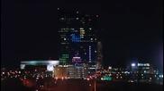 Tetris върху небостъргач – световен рекорд.