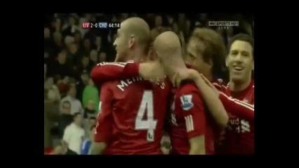 Ливърпул - Челси 2:0 Fantastic Fernando Torres