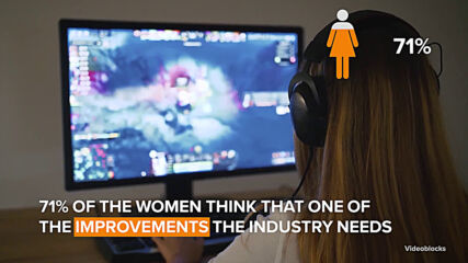 Women are hiding their gender to play online video games
