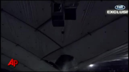 Raw Video: Snow Causes Metrodome Roof Collapse
