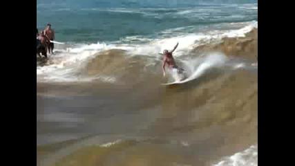 Изкуствено-естествена вълна за сърф